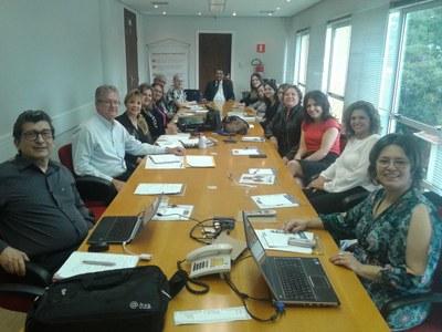 Aprimoramento e capacitação foram os motivos do encontro de diretores dos Colégios da Educação Metodista