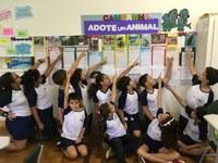 4º ano realiza atividades para conhecer espécies ameaçadas de extinção