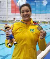 Aluna atleta do Izabela participa dos Jogos Sul-americanos da Juventude