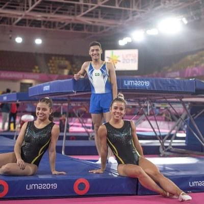 Aluno do Izabela representa o Brasil nos Jogos Pan-Americanos