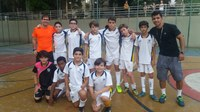 Amistoso de Futsal da Categoria Sub 13.