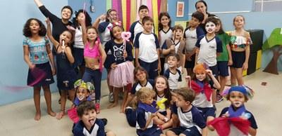 Colégio realiza atividades em comemoração ao Dia do Circo