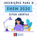 ENEM abre inscrições para prova 2020
