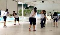 Ensino de tempo integral tem oficina de capoeira
