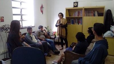 Pastoral Escolar e Universitária se reúne semanalmente para momentos de oração e reflexão